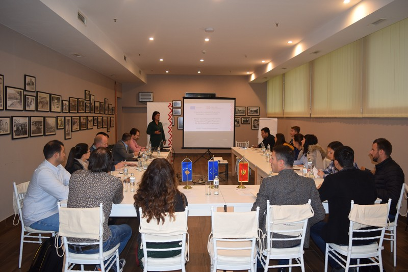 In Berane Montenegro it is being held the training on